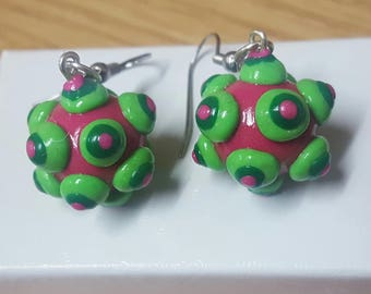 The Prince's Katamari Ball - Katamari Damacy Earrings, Katamari Damashi Earrings