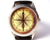 25% OFF ON SALE Watch compass, antique compass, mens watch, handmade watch