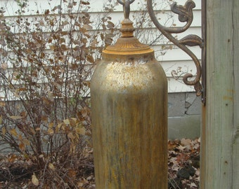 Handcrafted Ornamental Functional Large Garden Bell/Gong