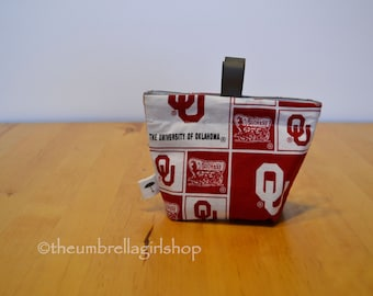 READY TO SHIP One Oklahoma Sooners Reusable Medium Snack Bag