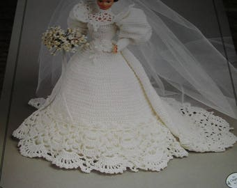 NEW 1994 Collector's Series GIBSON GIRL Bride Doll Crochet Pattern
