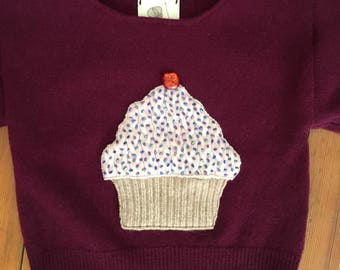 Hey There Cupcake! Sweater 12-18 months
