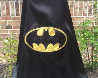 Batman Cape - Traditional Colors