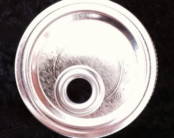 Mason Jar Lid with Stainless Steel Grommet