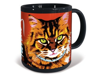 Tabby Longhaired Cat Purrhol Mug