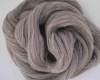 616 - 716 Yds Handspun Qiviut/Alpaca/Merino  Lace Weight Yarns