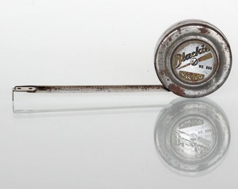 Small Vintage Metal Tape Measure
