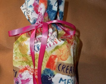 Creativity is messy Tissue Box Cover
