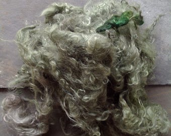 IRISH MOSS- HANDDYED mohair Locks