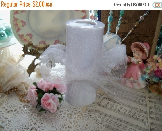 ON SALE White Fluff Tulle-5 yards