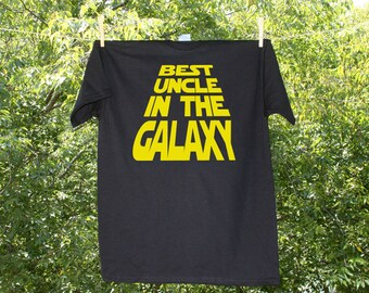 Best Uncle in the Galaxy / Uncle Tshirt / Uncle T - KW1