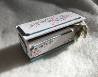 Dolls House Luxury Hand Painted 1/24th Chest - NEW SPRING 2017