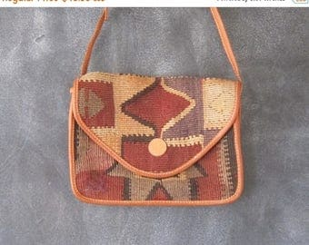 15% Off Out of Town Sale Turkish Kilim Clutch Cross Body Bag Hippie Boho Ethnic Bag