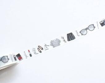 Washi tape moda