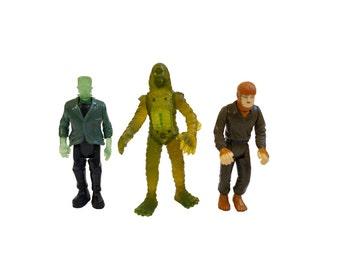 Universal Monsters - Frankenstein / Gill-Man / Wolfman