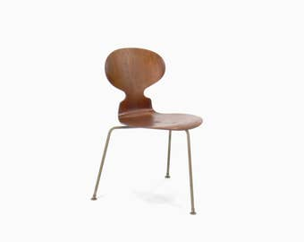 Vintage Arne Jacobsen for Fritz Hansen Ant Chair with 3 Legs