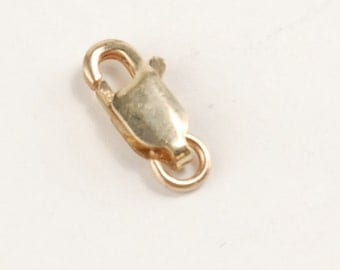 14k Gold Filled Lobster Claw Clasp