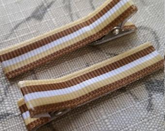 Neutral Hair Clip Set / Baby Hair Clip / Toddler Hair Clip / Ready To Ship