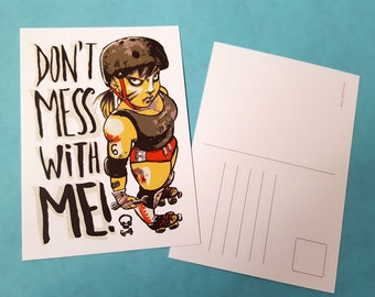 Ephic Postcard - Don't Mess With Me!