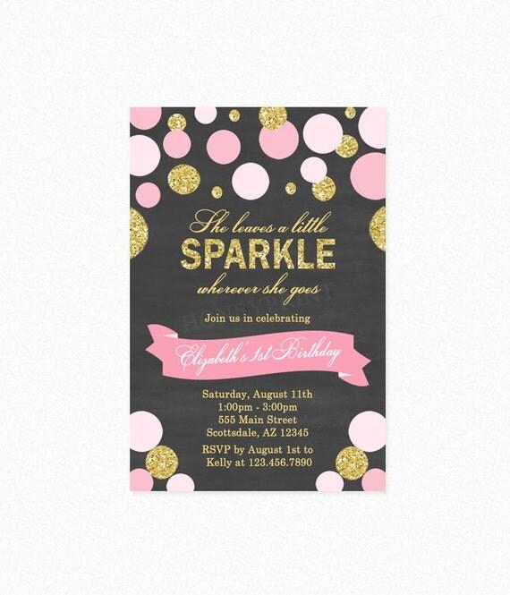 She Leaves A Little Sparkle Wherever She Goes Birthday ...