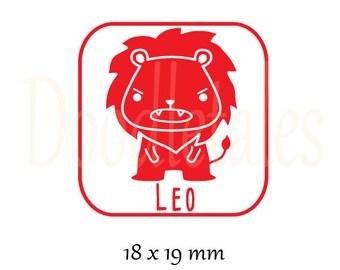 Horoscope Leo 2 (Rubber Stamp)