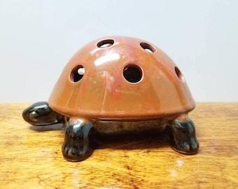 Ceramic Turtle Pencil Holder