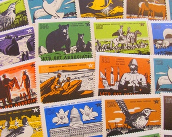 Let's Get Associated 50 Vintage TideWater Oil Company Seals 1930s Flying A Gas Associated Stamps of the West Western Ephemera Hawaii CA HI