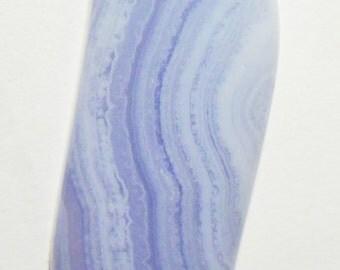Blue Lace Agate Designer Cabochon (6 021)