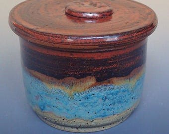 Stoneware French Butter Crock
