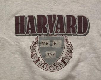 vintage Harvard champion sweatshirt