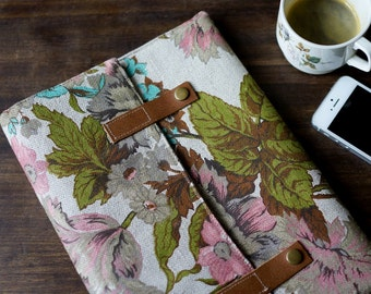FOKS FORM Clu Bag 014, floral clutch, handbag, I pad case, I pad Sleeve, I Pad Air, Samsung Galaxy tab 10,