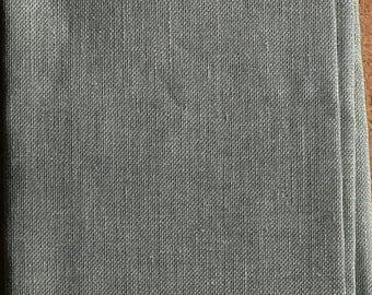 """Permin 28ct Silvery Moon Linen - 19"""" (48cm)wide by 27"""" 67cm) Long"""