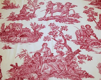 """French Toile Fabric 