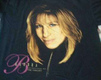 Vintage 90's Barbra Streisand 1994 concert Tour T Shirt Adult size XL