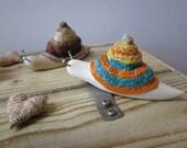 Wooden Snail, Wood carving, Miniature art, home decor, reclaimed wood sculpture