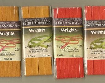 Vintage Wrights Bias Tape (4 Package)
