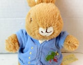 vintage plush peter rabbit doll/stuffed animal