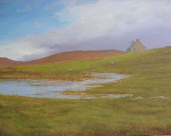 South Uist Ccroft.....Scotland....oil painting