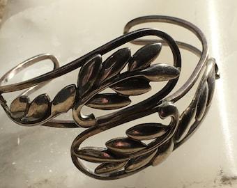 Vintage Danecraft Sterling Silver cuff .