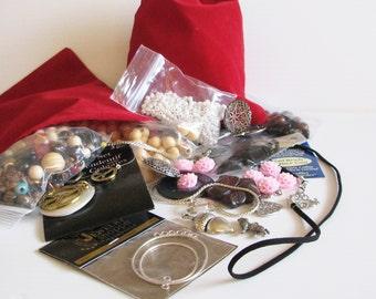 Jewelry Making Bulk Bag, Jewelry Making Grab Bag, Craft Making Grab Bag, Grab Bag 1