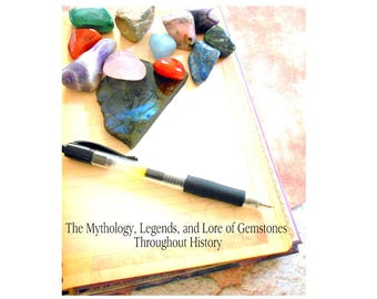 Stories of the Stones: The Mythology Legends and Lore of Gemstones Throughout History Ebook PDF Format earthegy