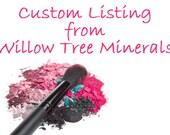 Custom Listing for Nirali