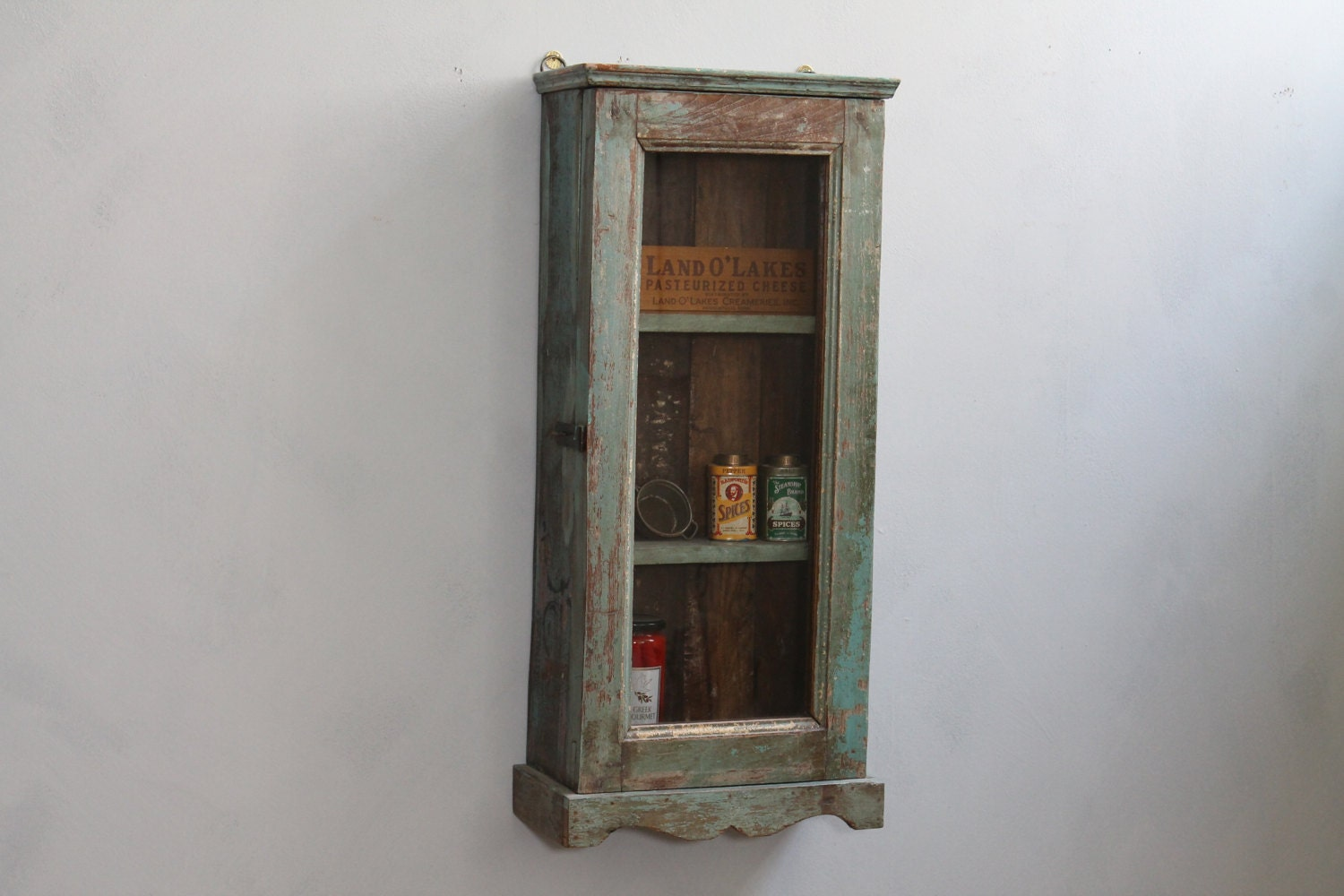Hanging Cabinet Small Curio Home Temple By