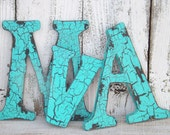 MEGA SALE Rustic Wall Letter~Shabby Chic Wood Letter~Wedding~Wall Letter~Your Choice Letter~Wall Gallery