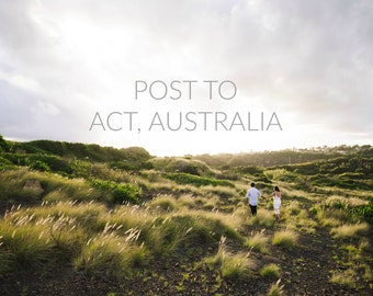 Add Postage Fee: Post to Canberra, Australia
