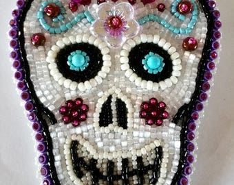 Sugar Skull Sugar Cookie    EBW May 2017 Entry and 3rd Place Winner in the Public Vote
