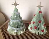Book Fold Christmas Tree Home Decor