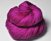 Electric light purple - Merino/BabyCamel Lace Yarn - LIMITED EDITION