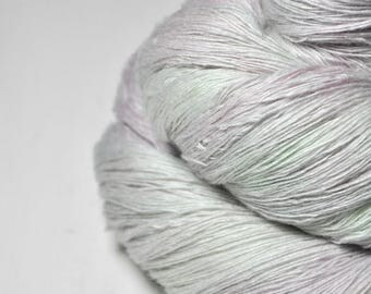Dancing fairies OOAK -  Merino/Cashmere Fine Lace Yarn