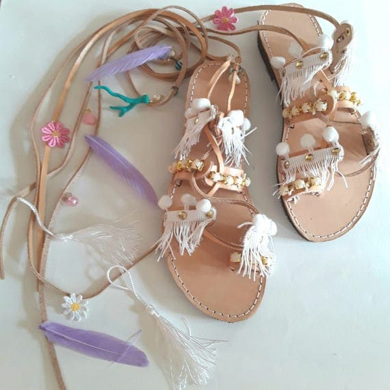 White Pearls Sandals, Leather Sandals, Wedding Shoes, Wedding Sandals, Sandales mariage, /bridal sandals,braut sandalen